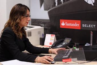 Nuevo modelo de sucursal   Santander